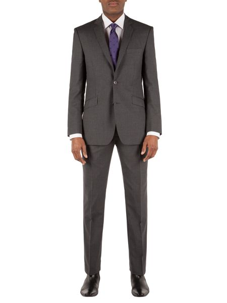 Alexandre of England Stripe Tailored Fit Trousers