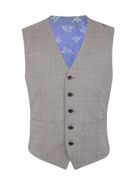 Alexandre of England Micro Tailored Fit Waistcoat