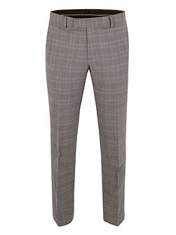 Subtle Check Tailored Fit Trousers