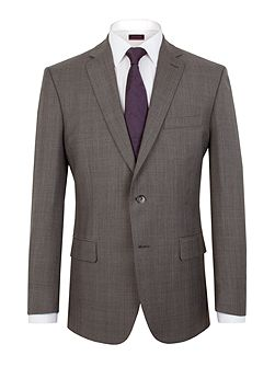 Prince Of Wales Check Classic Fit Jacket