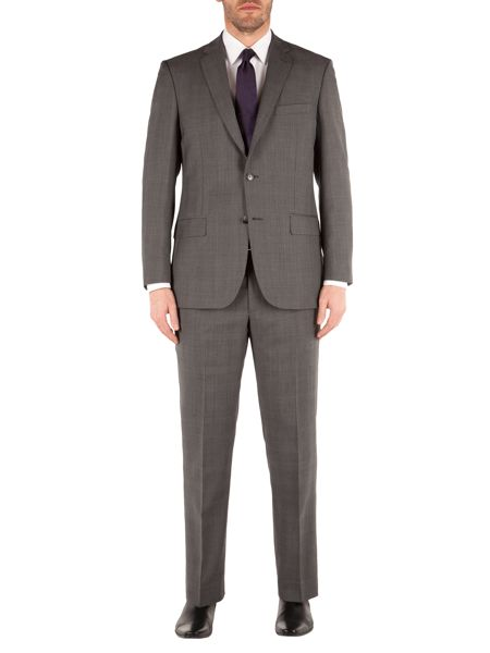 Pierre Cardin Prince Of Wales Check Classic Fit Trousers