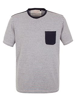 Pattern Crew Neck Regular Fit T-Shirt