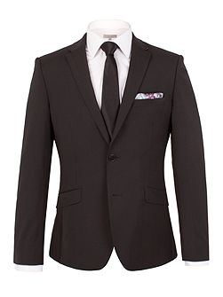 Plain Slim Fit Jacket