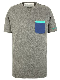 Men's Racing Green Becker Plain Crew Neck Regular