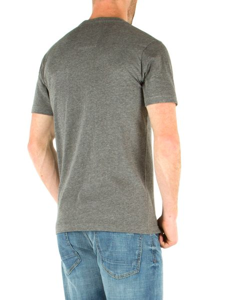 Racing Green Becker Plain Crew Neck Regular Fit T-Shirt