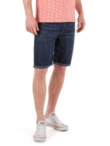 Dominic Stonewash Denim Shorts