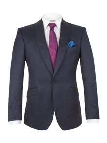 Alexandre of England Pin Dot Tailored Fit Suit Jacket