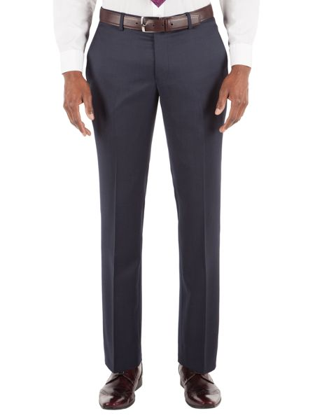 Alexandre of England Pin Dot Tailored Fit Suit Trousers