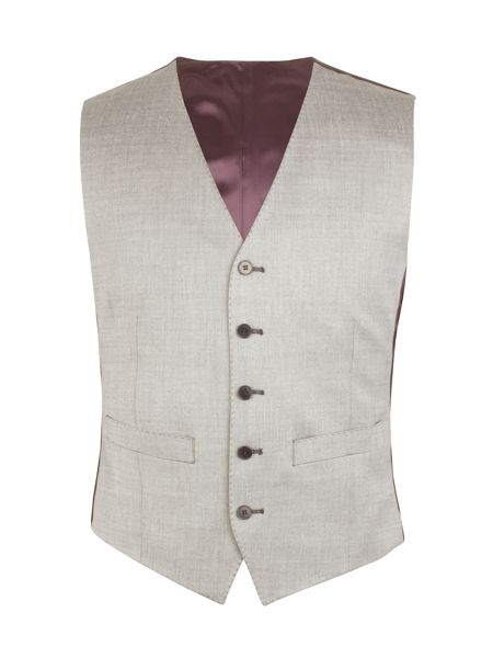 Alexandre of England Tonic Tailored Fit Waistcoat