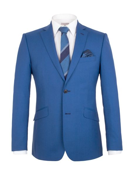 Alexandre of England Panama Weave Tailored Fit Jacket