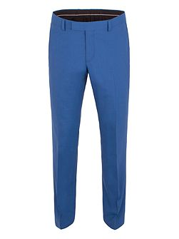 Panama Weave Tailored Fit Trousers