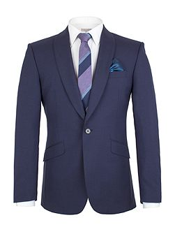 Shawl Collar Panama Tailored Fit Jacket