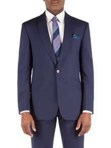 Alexandre of England Shawl Collar Panama Tailored Fit Jacket
