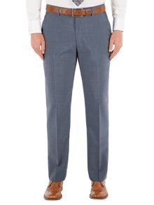 Slate Blue Tonic Regular Fit Trousers