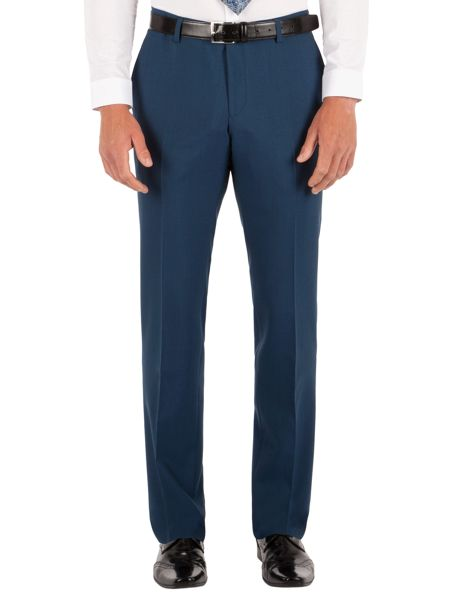 Alexandre of England Plain Slim Fit Suit Trousers