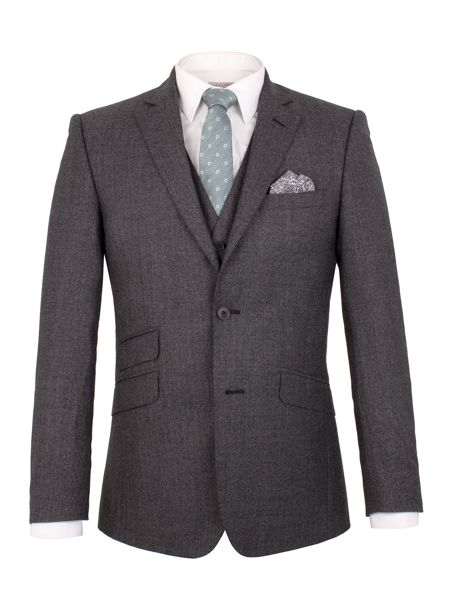 Alexandre of England Heritage Plain Tailored Suit Jacket