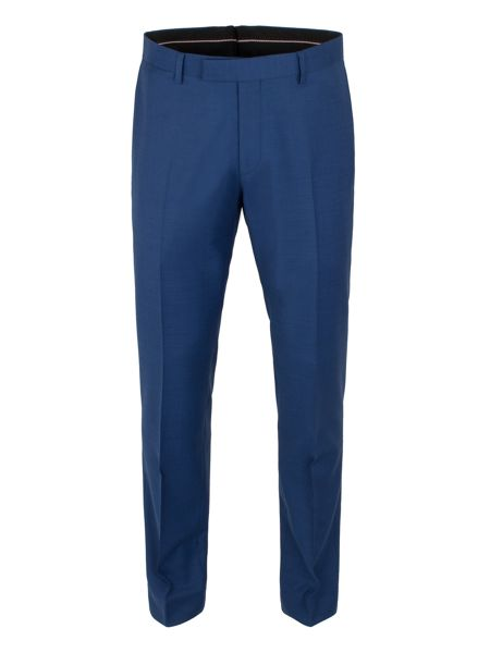 Alexandre of England Plain Pick & Pick Slim Fit Suit Trousers