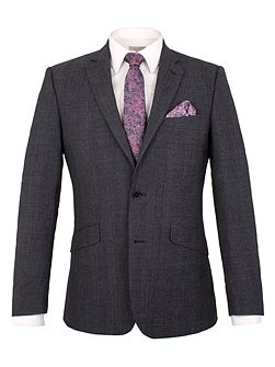 Men's Alexandre of England Check Tailored Suit Jacket