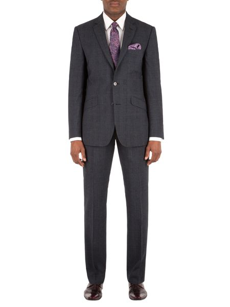 Alexandre of England Check Tailored Suit Trousers