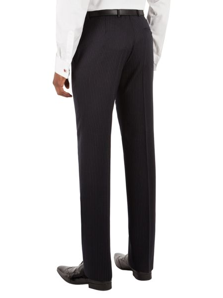 Alexandre of England Chalk Stripe Tailored Suit Trousers