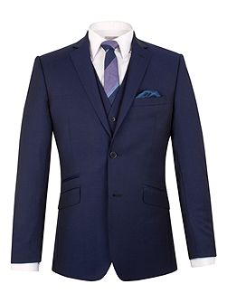 Wool Twill Tailored Fit Suit Jacket