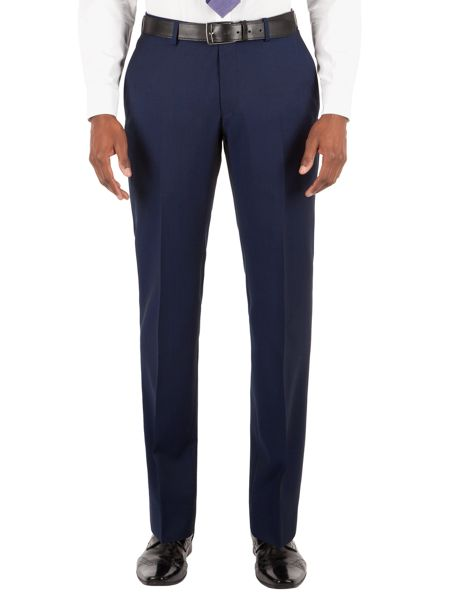 Alexandre of England Wool Twill Tailored Fit Suit Trousers
