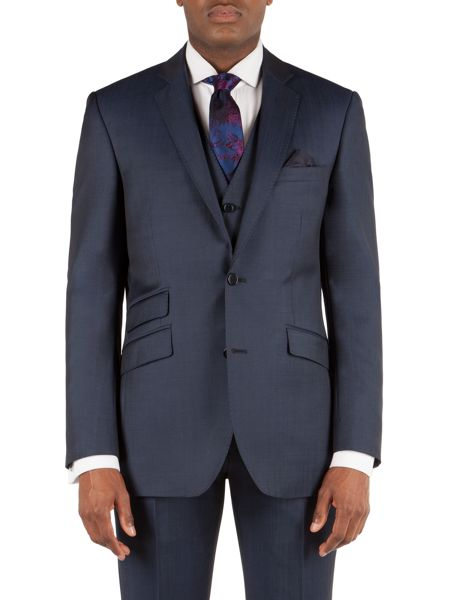 Alexandre of England Wool/Mohair Tailored Fit Suit Jacket