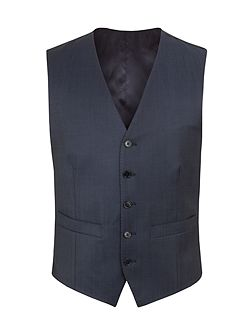 Wool/Mohair Tailored Fit Waistcoat