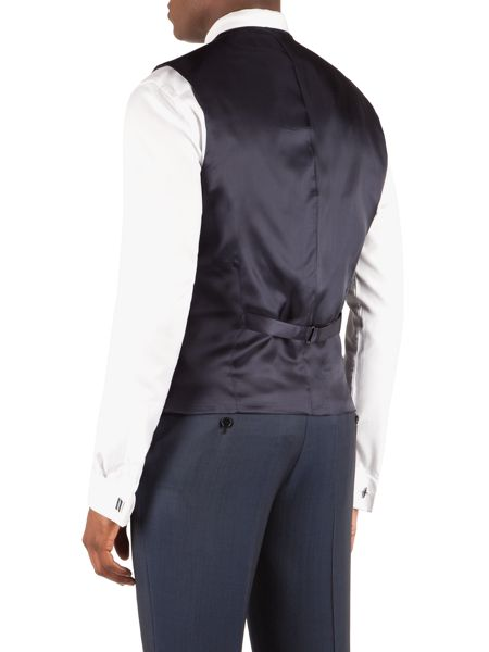 Alexandre of England Wool/Mohair Tailored Fit Waistcoat