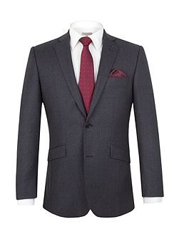 Brushed Birdseye Tailored Suit Jacket
