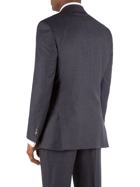 Alexandre of England Brushed Birdseye Tailored Suit Jacket