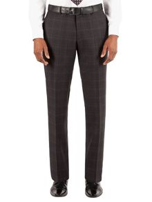 Alexandre of England Wool Check Tailored fit Suit Trouser