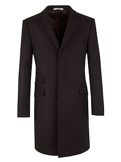 Wool Melton Overcoat