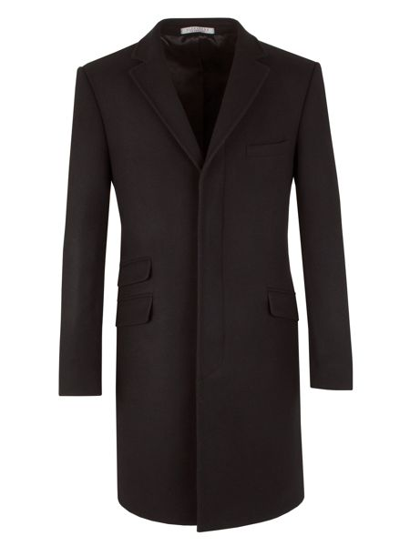 Alexandre of England Wool Melton Overcoat