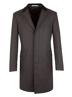Charcoal Small Effect Overcoat
