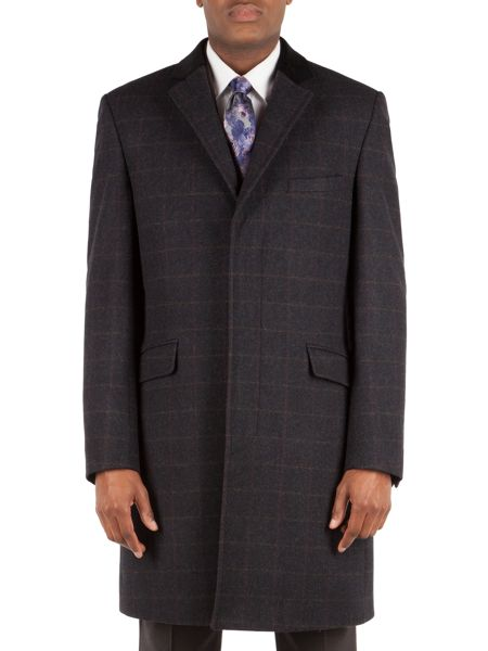 Alexandre of England Check overcoat
