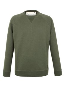 Racing Green Devon Panelled Marl Sweat