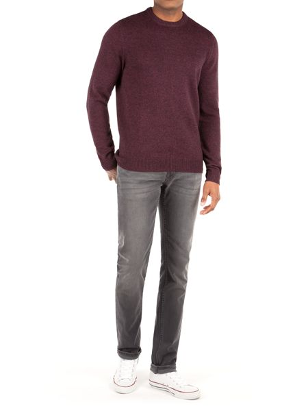 Racing Green Shelley Lambswool Blend Crew Neck Knit