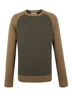 Lion Lambswool Blend Crew Neck Knit