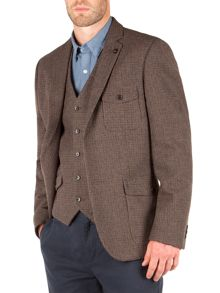 Racing Green Heath Puppytooth Blazer