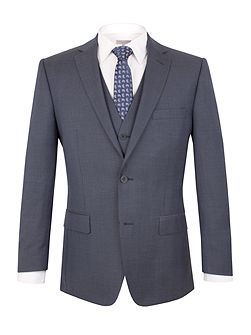 Prince of Wales Check Regular Fit Jacket