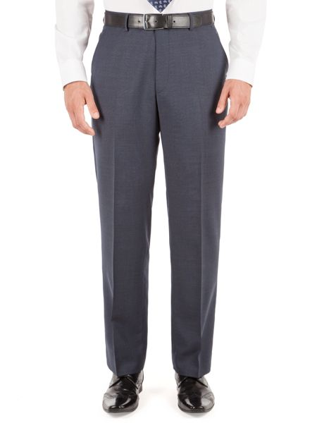 Pierre Cardin Prince of Wales Check Reg Fit Trouser