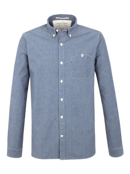 Racing Green Horsley Chambray Shirt