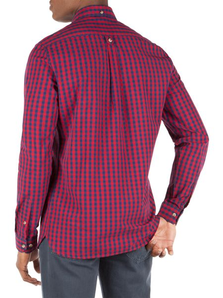 Racing Green Henry Poplin Check Shirt