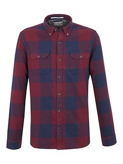 Joseph Oversized Check Shirt