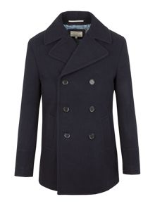 Racing Green Reform Classic Pea Coat