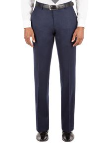 Flannel Tailored Fit Suit Trouser