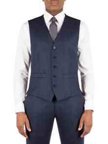 Alexandre of England Flannel Tailored Fit Waistcoat