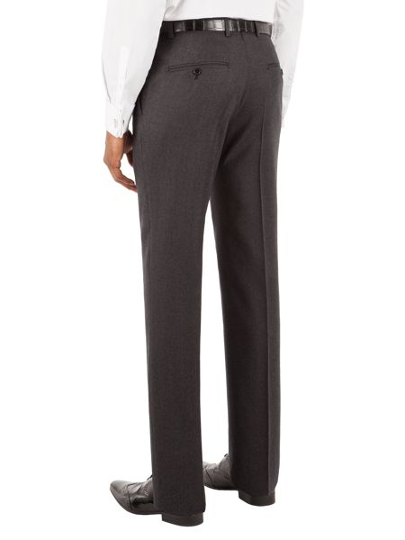 Alexandre of England Flannel Stripe Tailored Fit Suit Trouser