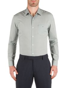 Racing Green Century Print Formal Shirt
